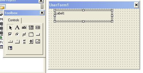 VBA Label - Add Label