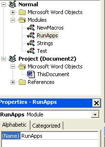 RunApps Module