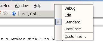 VBA Tutorial - debugging